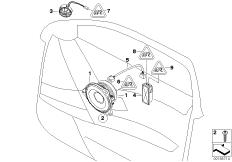 Individual Audiosystem Tür vorn