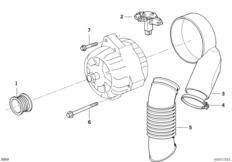 Generator Einzelteile 140A
