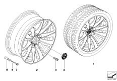 BMW LM Rad Doppelspeiche 247