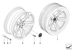 BMW LM Rad Sternspeiche 249