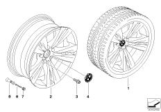 BMW LM Rad Doppelspeiche 266