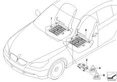 Elektrikteile Sitzbelegungserkennung