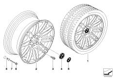 BMW Performance LM Rad Doppelspeiche 269
