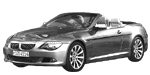 BMW 6er E64 LCI Cabrio