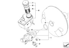 Hauptbremszylinder DSC