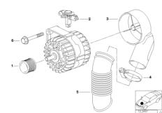 Generator Einzelteile 120A