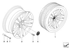 BMW LM Rad Doppelspeiche 278