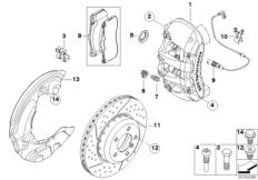 BMW Performance Vorderradbremse