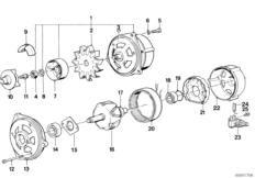 Generator Einzelteile