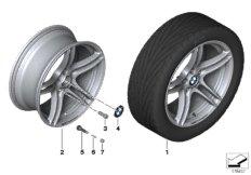 BMW Performance LM Rad Doppelspeiche 313