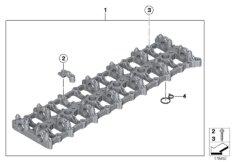 Zylinderkopf / Zwischengehäuse