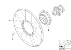 Kühlsystem-Lüfter / Lüterkupplung