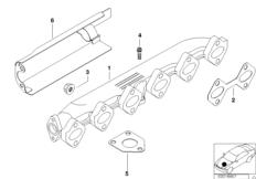 Abgaskrümmer-AGR