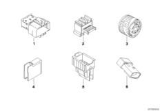 Diverse Stecker und Steckverbinder