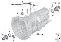 GS6-17BG / DG Dichtungen  /  Anbauteile