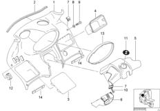 Verkleidung Instrumenten-Prallplatte
