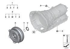 GA8HP45Z Drehmomentwandler / Dichtelemente