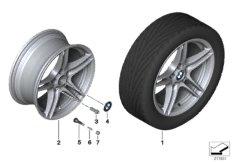BMW LM Rad Doppelspeiche Performance 313