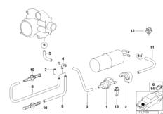 Tankentlüftungsventil / Störluftventil