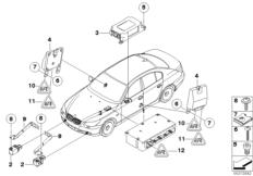 Elektrikteile Airbag
