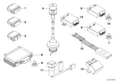 Module / Schalter / Ladesteckdose Behörde
