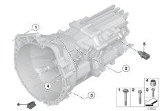 Getriebe Befestigung / Anbauteile