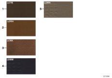 Musterseite Polsterfarben Leder