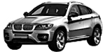 BMW X6 E72 Hybrid SAC