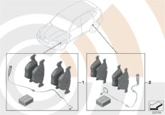 Service Kit Bremsbeläge  /  Value Line