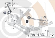 Service Kit Zugstrebe  /  Value Line