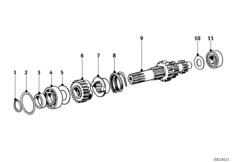 4 Gang Getriebe