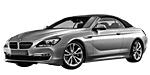 BMW 6er F12 Cabrio
