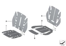 Elektrikteile Sitzheizung vorn