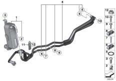 Wärmetauscher / Getriebeölkühlerleitung