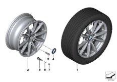 BMW LM Rad V-Speiche 390 - 16