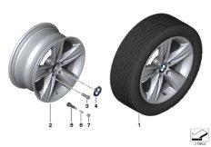 BMW LM Rad Sternspeiche 391- 16