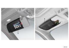 Brillen- / CD- / DVD Tasche BMW Lines