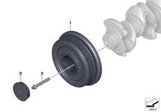 Riementrieb-Schwingungsdämpfer
