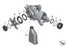 Winkelgetriebe Einzelteile