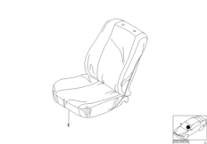 Easy-on / Easy-off Seat Cover