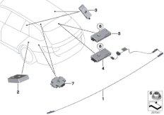 Einzelteile Antennenverstärker