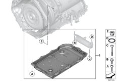 GA8HP76X O-Ring Ölvolumenspeicher