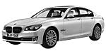 BMW 7er F01 LCI Limousine