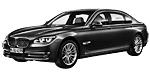 BMW 7er F02 LCI Limousine