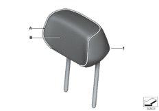 Individual Kopfstütze Sitz hinten aussen