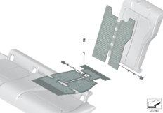 Elektrikteile Sitzheizung hinten