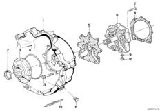 ZF 3HP22 Gehäuseteile / Ölversorgung