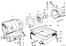 ZF 3HP22 Gehäuseteile / Ölwanne