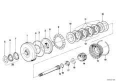 ZF 3HP22 Antriebskupplung A