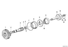 ZF 3HP22 Planetenradsatz